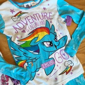 My Little Pony Pajamas - New! My Little Pony Pajamas